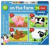 My First Puzzles - Fattoria Puzzle;Puzzle per Bambini - Ravensburger