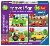My First Puzzles - Travel Far Puzzles;Children s Puzzles - Ravensburger