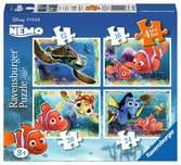 Disney Finding Nemo 4 in Box Puzzles;Children s Puzzles - Ravensburger