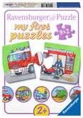 Záchranáři 9x2 dílků 2D Puzzle;Dětské puzzle - Ravensburger