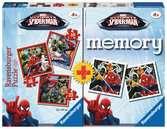 Disney Spiderman pexeso + 3x puzzle 2D Puzzle;Dětské puzzle - Ravensburger