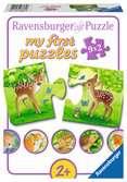 Süße Waldbewohner Baby und Kleinkind;Puzzles - Ravensburger