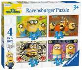 Minions 4 in Box Puzzles;Children s Puzzles - Ravensburger