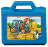 Auta na farmě 12 dílků 2D Puzzle;Dětské puzzle - Ravensburger