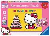 Hello Kitty feiert Geburtstag Puzzle;Kinderpuzzle - Ravensburger