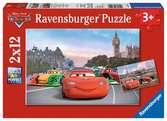 DI: ZYGZAK MCQUEEN&PRZYJACIELE 2X12 Puzzle;Puzzle dla dzieci - Ravensburger