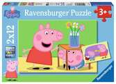 Amour fraternel / Peppa Pig Puzzle;Puzzle enfant - Ravensburger