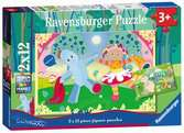 In the Night Garden 2x12pc Puzzles;Children s Puzzles - Ravensburger
