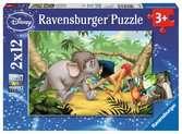 Mowgli et ses amis / Livre de la jungle Puzzle;Puzzle enfant - Ravensburger
