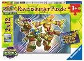 Ninja Turtles Puzzels;Puzzels voor kinderen - Ravensburger