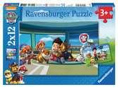 Puzzle 2x12 p - Ryder et ses amis / Pat Patrouille Puzzle;Puzzles enfants - Ravensburger