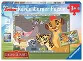 LWIA STRAŻ 2X1 EL Puzzle;Puzzle dla dzieci - Ravensburger