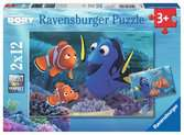 Finding Dory 2x12pc Puzzles;Children s Puzzles - Ravensburger