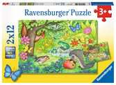 Dieren in onze tuin Puzzels;Puzzels voor kinderen - Ravensburger