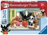 Bing Ravensburger Puzzle  2 x 12 pz Puzzle;Puzzle per Bambini - Ravensburger