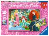 In the world of Disney Princesses Puslespil;Puslespil for børn - Ravensburger