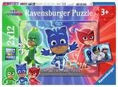 Ravensburger puzzle - Pj Mask Puzzle 2 X 12 Pz Puzzles;Puzzle Infantiles - Ravensburger