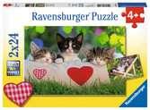 Sleepy Kittens Puslespil;Puslespil for børn - Ravensburger