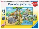 Willkommen im Zoo Puzzle;Kinderpuzzle - Ravensburger