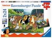 Yakaris tierische Freunde Puzzle;Kinderpuzzle - Ravensburger