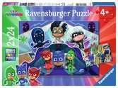 Ravensburger puzzle - Pj Mask Puzzle 2X24 Pz Puzzles;Puzzle Infantiles - Ravensburger