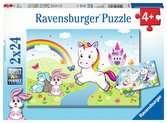 Fairytale Unicorn Puslespil;Puslespil for børn - Ravensburger