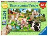 Amigos animales Puzzles;Puzzle Infantiles - Ravensburger