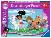 Adventures inside and outside Puslespil;Puslespil for børn - Ravensburger