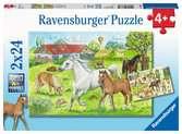 Auf dem Pferdehof Puzzle;Kinderpuzzle - Ravensburger