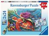 Mermaid Adventures Puslespill;Barnepuslespill - Ravensburger