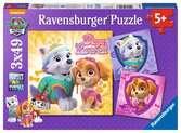 Puzzles 3x49 p - Charmantes chiennes / Pat Patrouille Puzzle;Puzzle enfant - Ravensburger