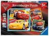 Disney Cars 3, Legendes van de baan Puzzels;Puzzels voor kinderen - Ravensburger