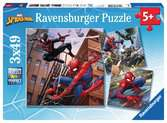 Spider-Man 3x49pc Puzzles Puzzles;Children s Puzzles - Ravensburger