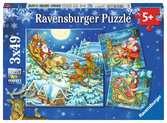 De magie van Kerstmis Puzzels;Puzzels voor kinderen - Ravensburger