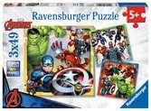 The Avengers Puzzels;Puzzels voor kinderen - Ravensburger