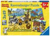 Abenteuer mit Mauseschlau und Bärenstark Puzzle;Kinderpuzzle - Ravensburger