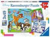 Disney vrienden Puzzels;Puzzels voor kinderen - Ravensburger