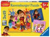 Alvin & the Chipmunks 3x49pc Puslespil;Puslespil for børn - Ravensburger