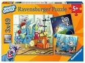 Woozle Goozle im Weltall, Labor und unter Wasser Puzzle;Kinderpuzzle - Ravensburger