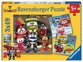 Robot Trains Puzzles;Puzzle Infantiles - Ravensburger