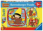 Curious George Puzzle;Puzzle per Bambini - Ravensburger