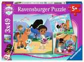 Nella the Princess Knight, 3x49pc Puzzles;Children s Puzzles - Ravensburger