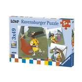 Puzzles 3x49 p - Le Loup qui voulait être un super-héros Puzzle;Puzzles enfants - Ravensburger