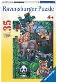 Animal Kingdom Jigsaw Puzzles;Children s Puzzles - Ravensburger