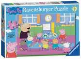 Ravensburger Peppa Pig Classroom Fun 35 piece Jigsaw Puzzle for Kids age 3 years and up Puzzles;Children s Puzzles - Ravensburger