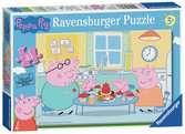 Ravensburger Peppa Pig - Family Time 35pc Jigsaw Puzzle Puzzles;Children s Puzzles - Ravensburger