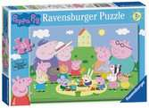 Ravensburger Peppa Pig - Fun in the Sun 35pc Jigsaw Puzzle Puzzles;Children s Puzzles - Ravensburger