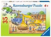 Busy Builders Jigsaw Puzzles;Children s Puzzles - Ravensburger