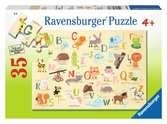 A-Z zvířata 35 dílků 2D Puzzle;Dětské puzzle - Ravensburger