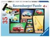 Tires & Engines Jigsaw Puzzles;Children s Puzzles - Ravensburger